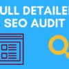 Monthly SEO Audit Report